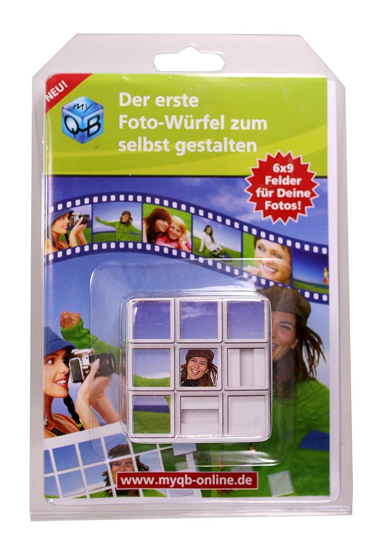 MyQB Foto-Würfel zum selbst gestalten: Amazon.de: Spielzeug
