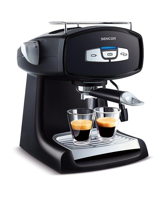 Sencor SES 2010BK Máquina de café exprés: Amazon.es: Hogar