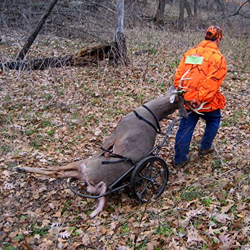 Rage Powersports GAME-CART Kill Shot Hunting Deer and Game Hauler Cart 500 lb. Capacity