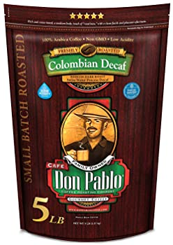Cafe Don Pablo Colombian Decaf Coffee For Percolators