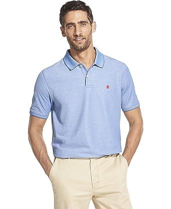 IZOD Mens Advantage Performance Solid Polo Shirt: Amazon.es: Ropa ...