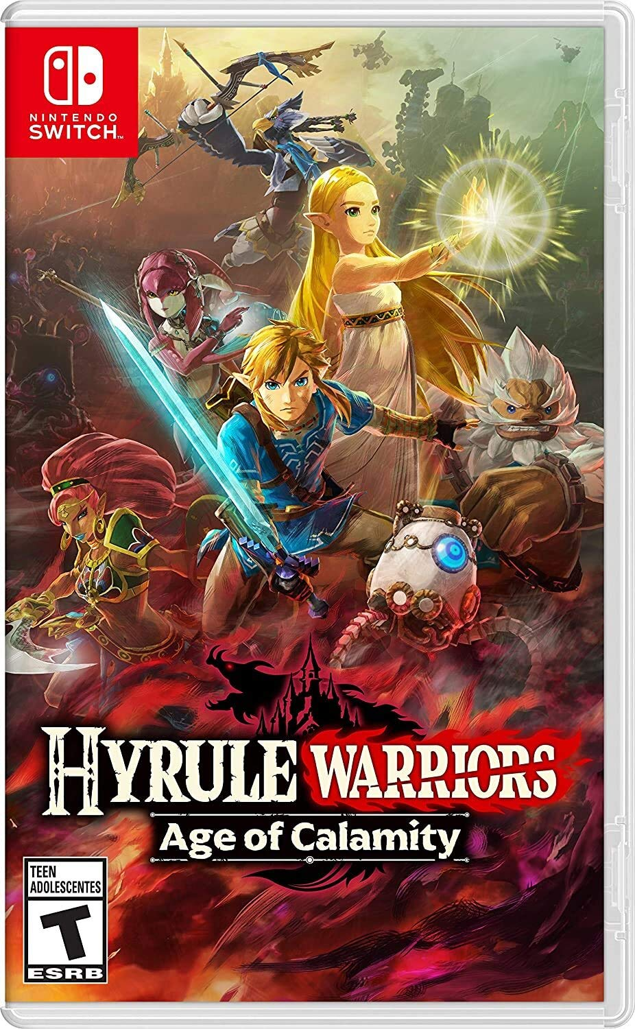 Amazon Com Hyrule Warriors Age Of Calamity Nintendo Switch Nintendo Of America Video Games
