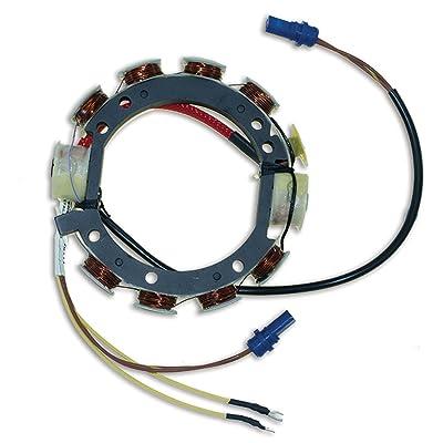 CDI Electronics 173-3672 Johnson/Evinrude Stator - 4/6 Cyl. 9 Amp (1978-1987): Automotive