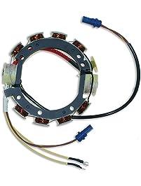 CDI Electronics 173-3672 Johnson/Evinrude Stator-4/6 Cyl. 9 Amp (1978-1987)