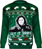 Urban D® New Season Game Of Thrones Jon Let IT Snow Ladies & Mens Got Xmas Festive Gift Novelty Jumper Sweater Super Plus Sizes Top 8-30