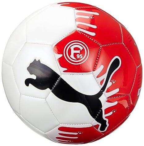 Puma Fortuna Düsseldorf - Balón de fútbol, color blanco y rojo ...