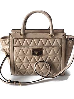3f1199c0f6 MICHAEL Michael Kors Women s Vivianne Small Shoulder Shiny Leather ...