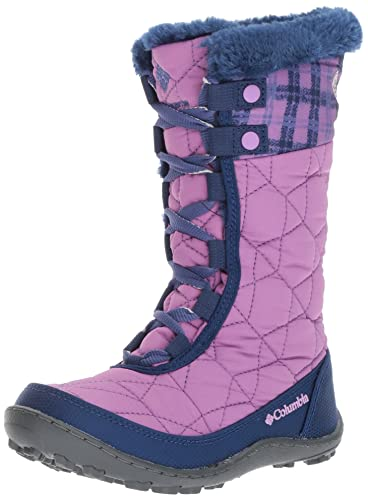Columbia Girls' Youth Minx Mid II Waterproof Omni-Heat Snow Boot, Northern  Lights