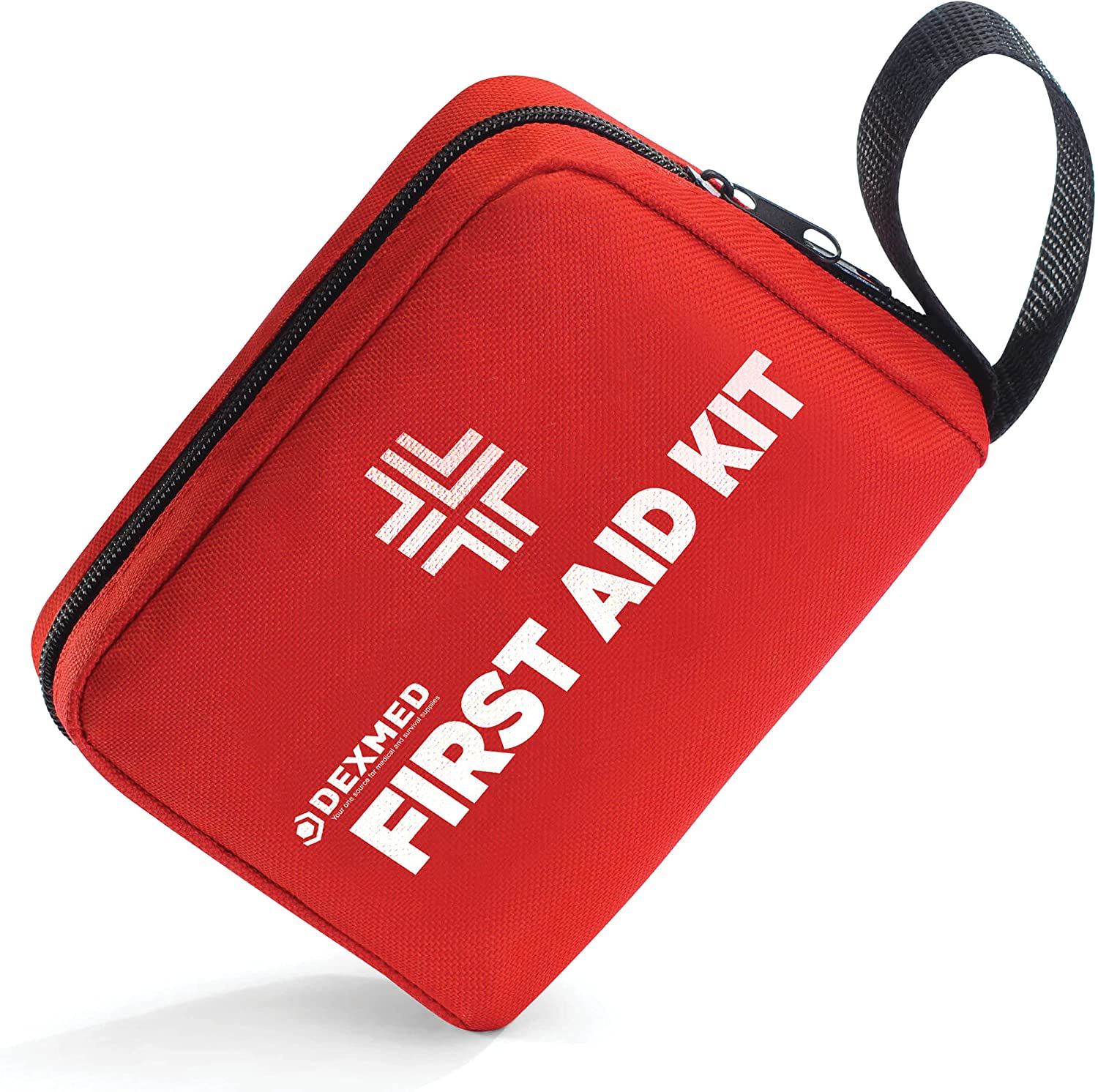 Small First Aid Kit with Professional Medical Supplies and Survival Equipment - Lightweight, Waterproof, and Compact Medical Kit for Home, Travel, Camping, Hiking, Car, Office
