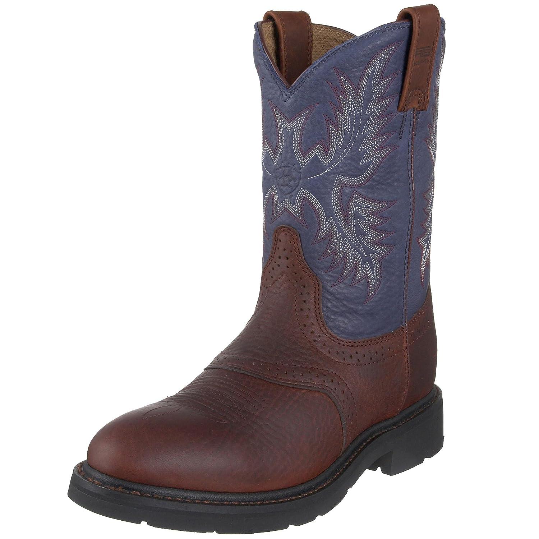 Ariat メンズ Redwood/ Indigo Blue 8.5 Medium (D) US 8.5 Medium (D) USRedwood/ Indigo Blue B001BHXJFO