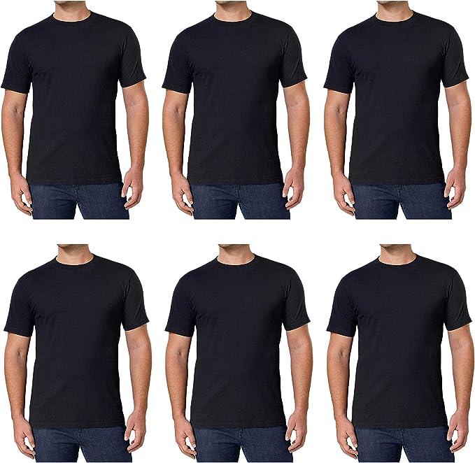New Mens Crewneck 100/% Cotton T-Shirt