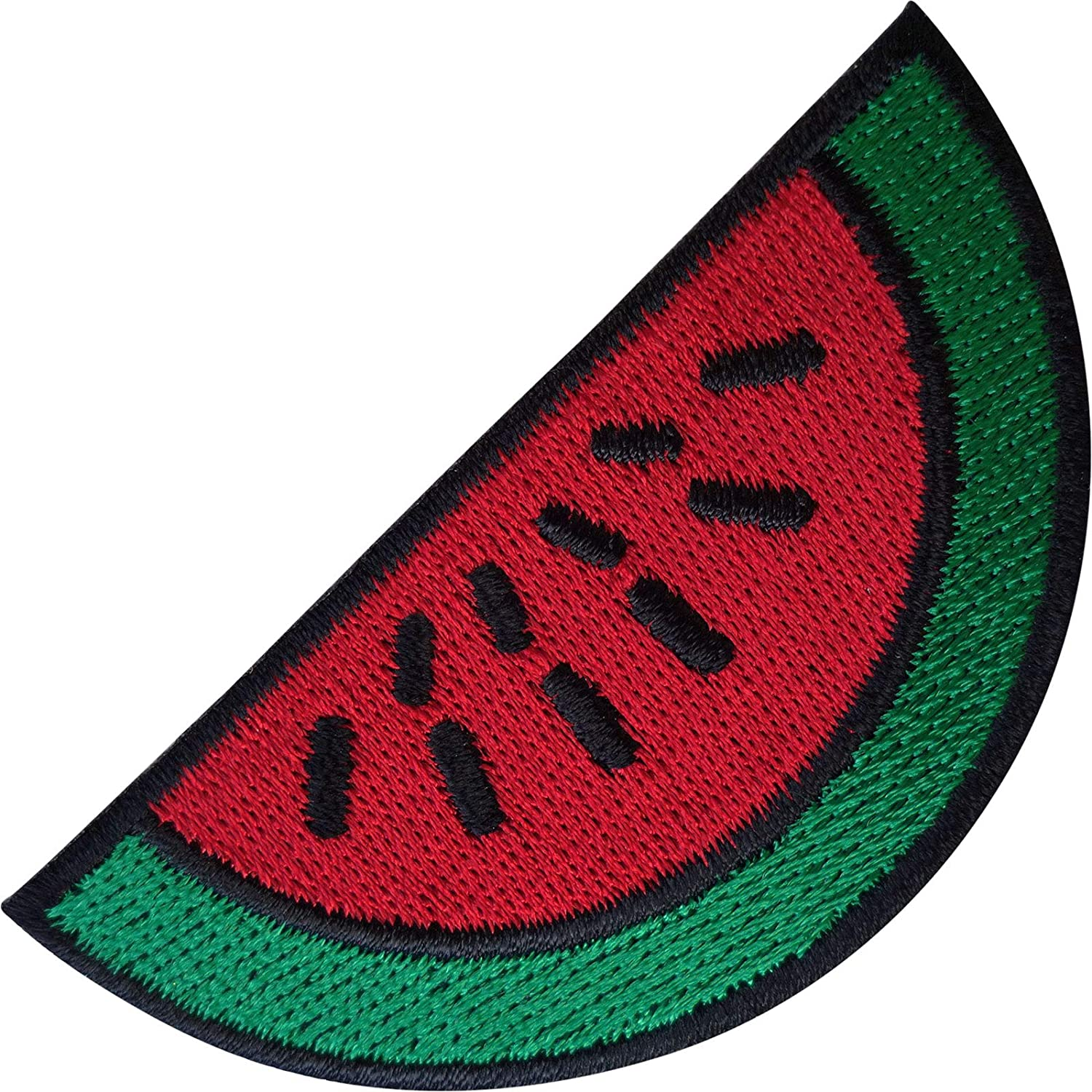 Watermelon87mm x45mm Iron On EmbroideredApplique Patch Badge