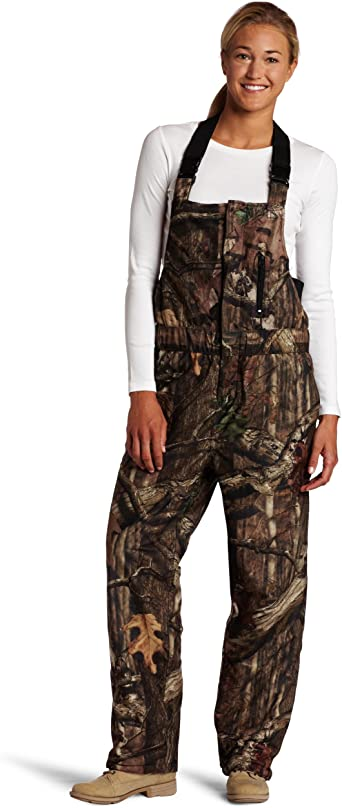 Yukon Gear Women S Bib Overall Mossy Oak Infinity Large Amazon Co Uk Clothing