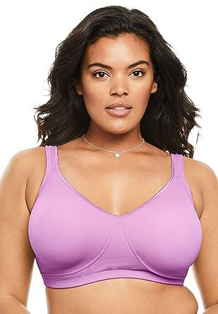 1472d8b8be2 Comfort Choice Women s Plus Size Unlined Wireless Bra at Amazon ...