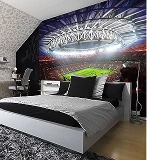 FIFA Football Stadium Pitch Sport Wall Mural Photo Wallpaper Kids Game Home  Deco 260cmx175cm