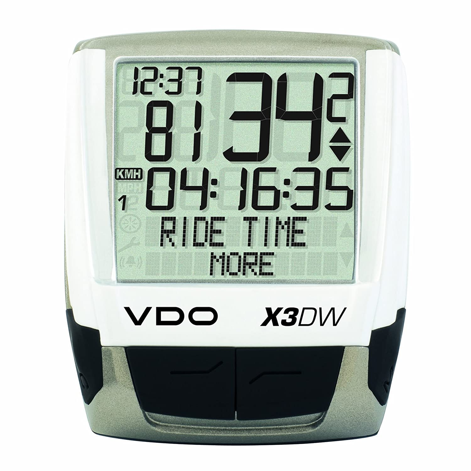 Vdo X3dw Wireless Bicycle Computer Cyclocomputers