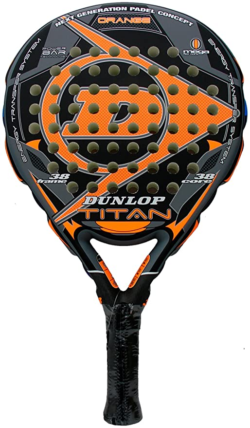 Dunlop - Pala de Padel Titan, Naranja (Orange): Amazon.es ...