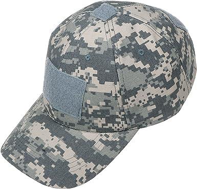 Xidan CFL Gorra Sombrero para Sol de Malla Táctica de Deporte Béisbol Camuflaje Militar para Hombres con España Parche de Bandera/Parche de Palabras: Amazon.es: Ropa y accesorios