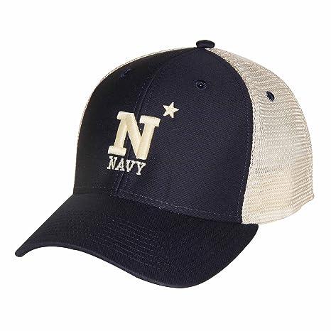 7dd217aba565b Amazon.com   Ouray Sportswear NCAA Navy Midshipmen Soft Mesh ...
