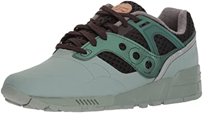 low priced 50d82 9255b Saucony Originals Men s Grid SD HT Running Shoe, Green Black, 7 Medium US