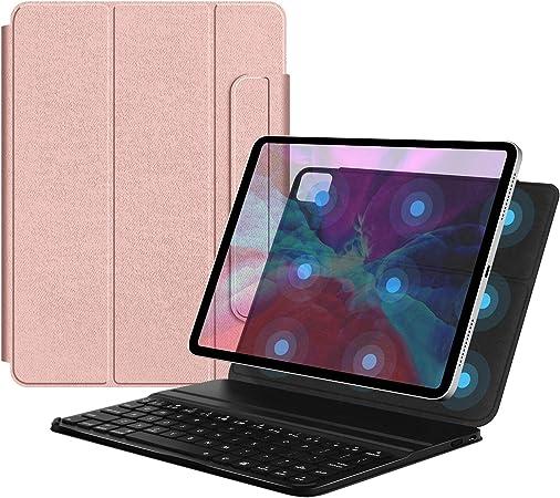 Bluetooth iPad Air 4 Clavier avec Coque+Touchpad BENKS Clavier /Étui avec Pav/é Tactile pour iPad Air 4th Gen.10.9 Pouces//iPad Pro 11 2020//2018 10.9//11 Pouces Touchpad Tactile