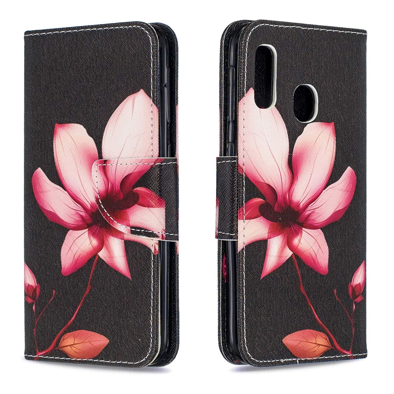 Klapph/ülle mit Kartenfach Brieftasche Lederh/ülle Stossfest Handy H/ülle Klappbar f/ür Samsung Galaxy A20E Tosim Galaxy A20E H/ülle Leder TOBFE040134 T4