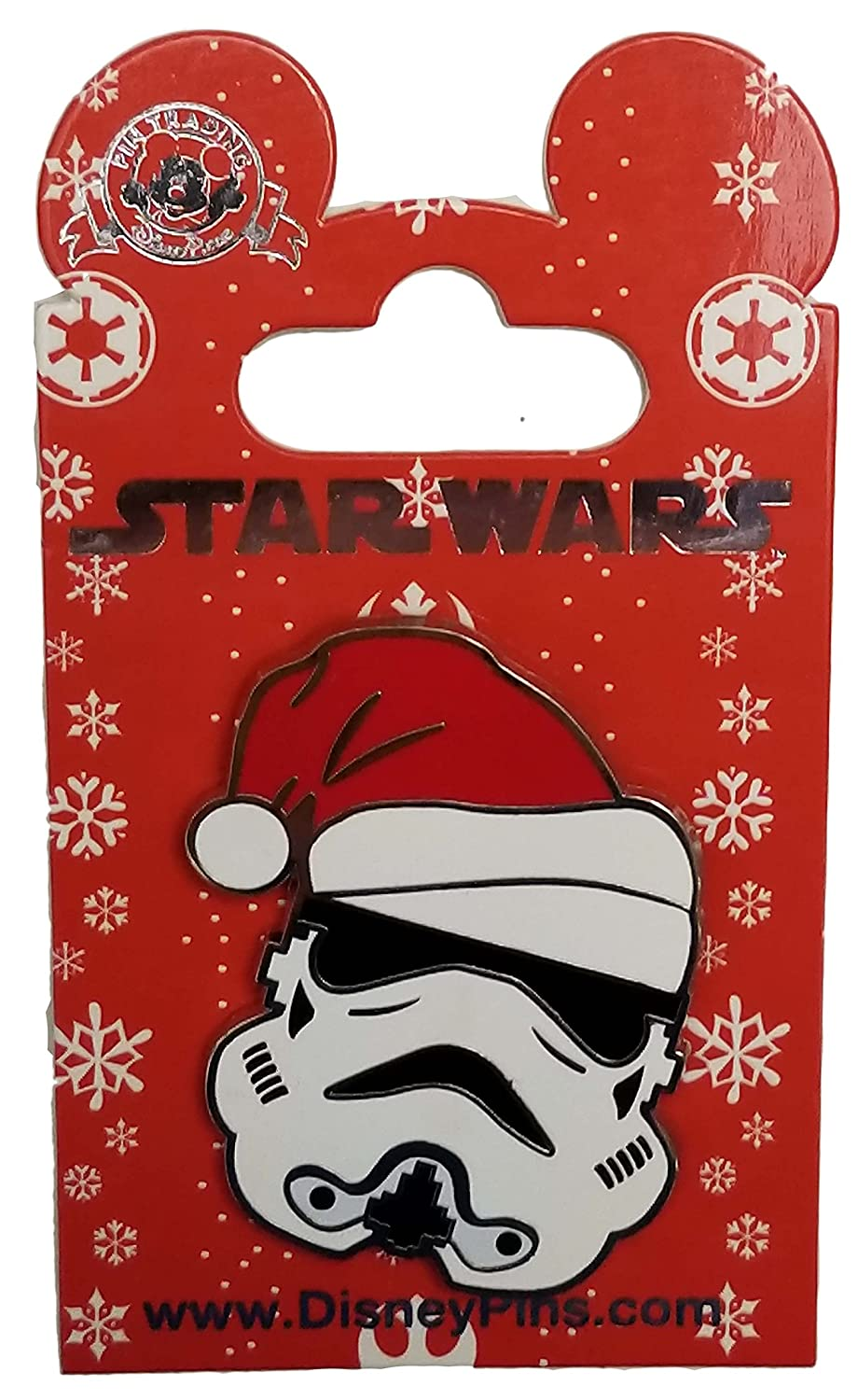 Disney Pin - Star Wars - Stormtrooper in Santa Hat