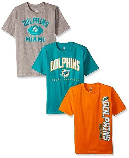 NFL - Juego de Camisetas para niños de 8 a 20 años (3 Piezas ... d9d102774fc