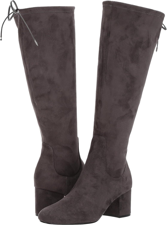 Sam Edelman Women's Vinney Knee High Boot B06XJLR511 9.5 C/D US Asphalt Royal Stretch