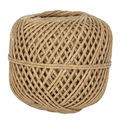 100% Organic Hemp Wick 200 FT Spool Well Coated With Natural BeesWax Standard Size (1.5mm)
