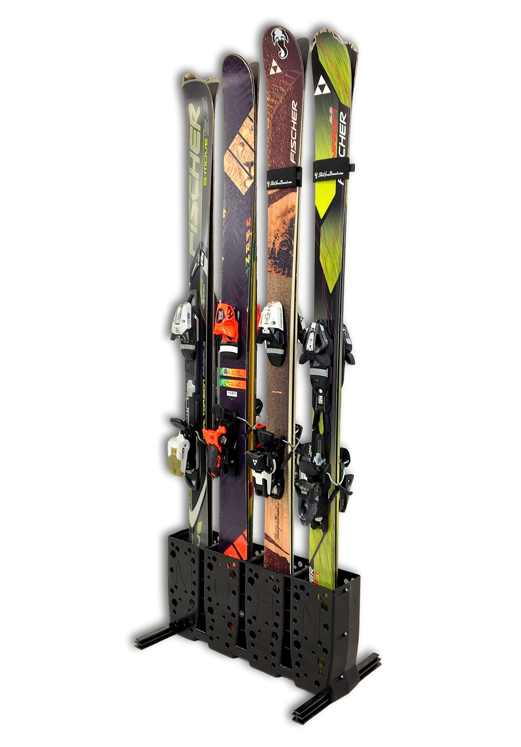 StoreYourBoard Ski Storage Rack | 4 Pair