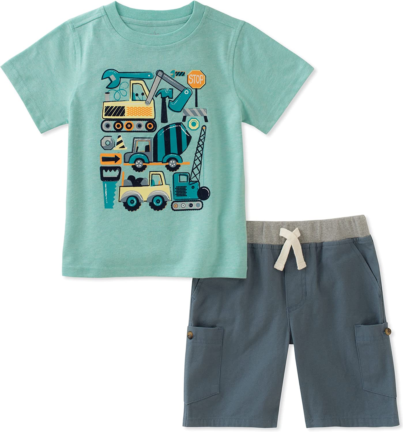 Kids Headquarters Baby Boys 2 Pieces Short Set