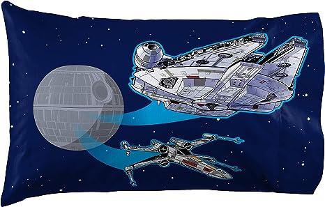 UniqueSTAR WARS SPACESHIPS Handmade Cotton Pillowcase