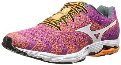 Mizuno Women's Wave Sayonara 2 Running Shoe, Baton Rouge/White, 11 ...