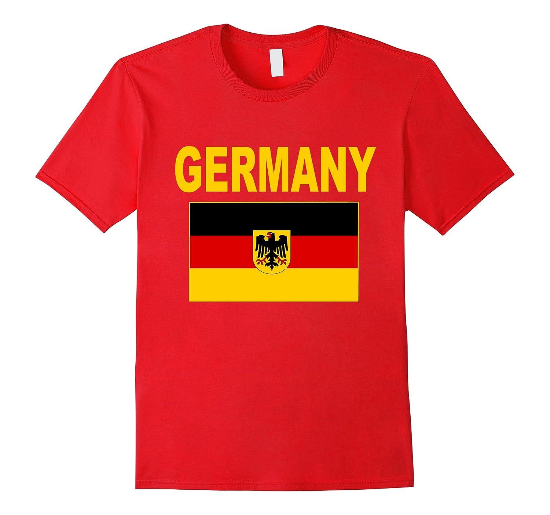 Germany T-Shirt Deutschland Flag German Pride Unisex Top Tee-Vaci