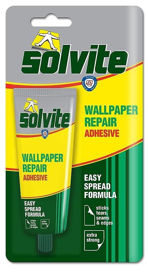 Solvite Wallpaper Repair Adhesive Tube Ref 1574678, 56 g: Amazon.co.uk: DIY & Tools