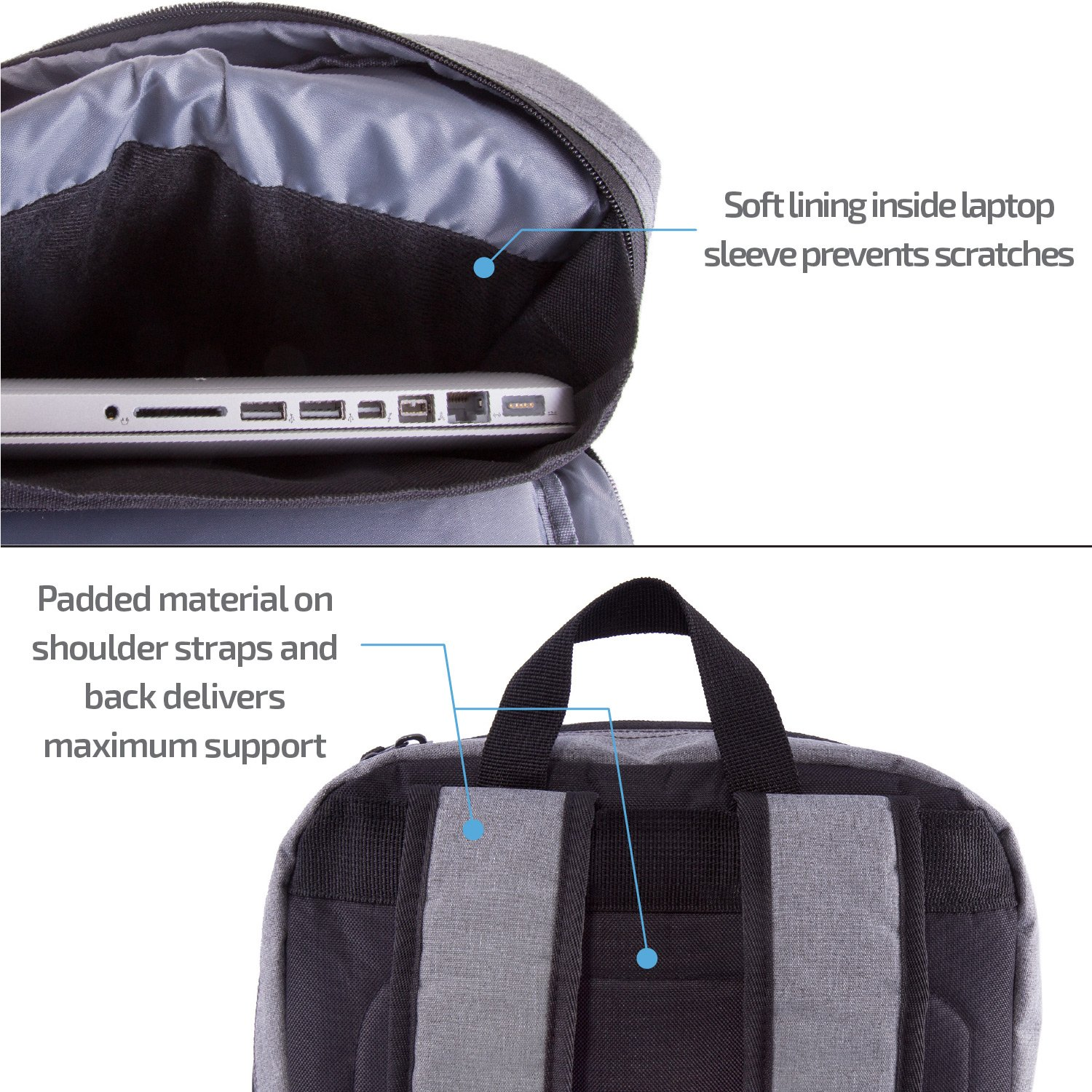 JETPAL Compact Laptop Backpack Variation