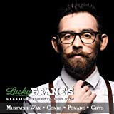 Lucky Franc's Unscented Mustache Wax: Classic