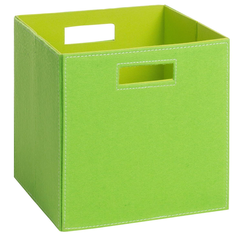 (H&S) Aufbewahrungsbox PIA - Faltbox - Korb - Filz - 28x28x28 cm - (Pink) Schmetsdorf