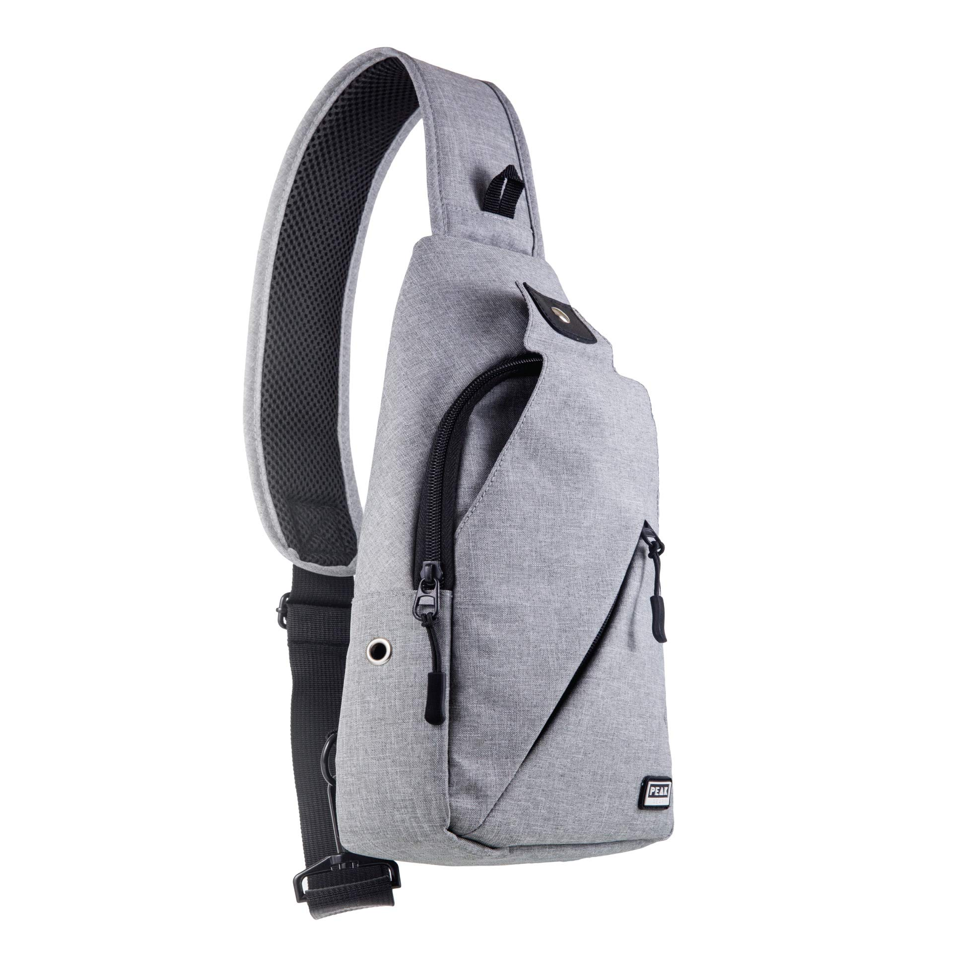 w// Lost /& Found ID Peak Gear Sling Compact Crossbody Backpack and Day Bag