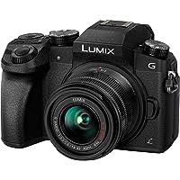 """Panasonic Lumix G7KEC-K - Cámara Evil con Objetivo Intercambiable de 14-42mm, 16 MP (Pantalla 3"""", grabación de vídeo en 4K, WiFi), versión española, Color Negro"""