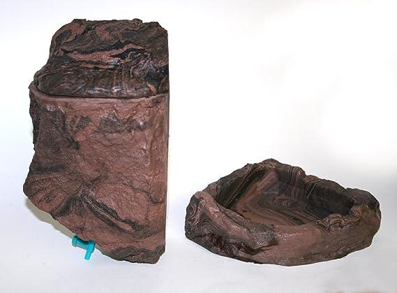 magnaturals reptil agua Dripper tierra - magnético Decor: Amazon.es: Productos para mascotas