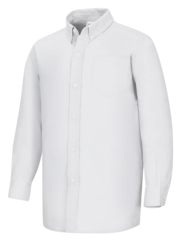 Classroom Big Boys Long Sleeve Oxford Shirt