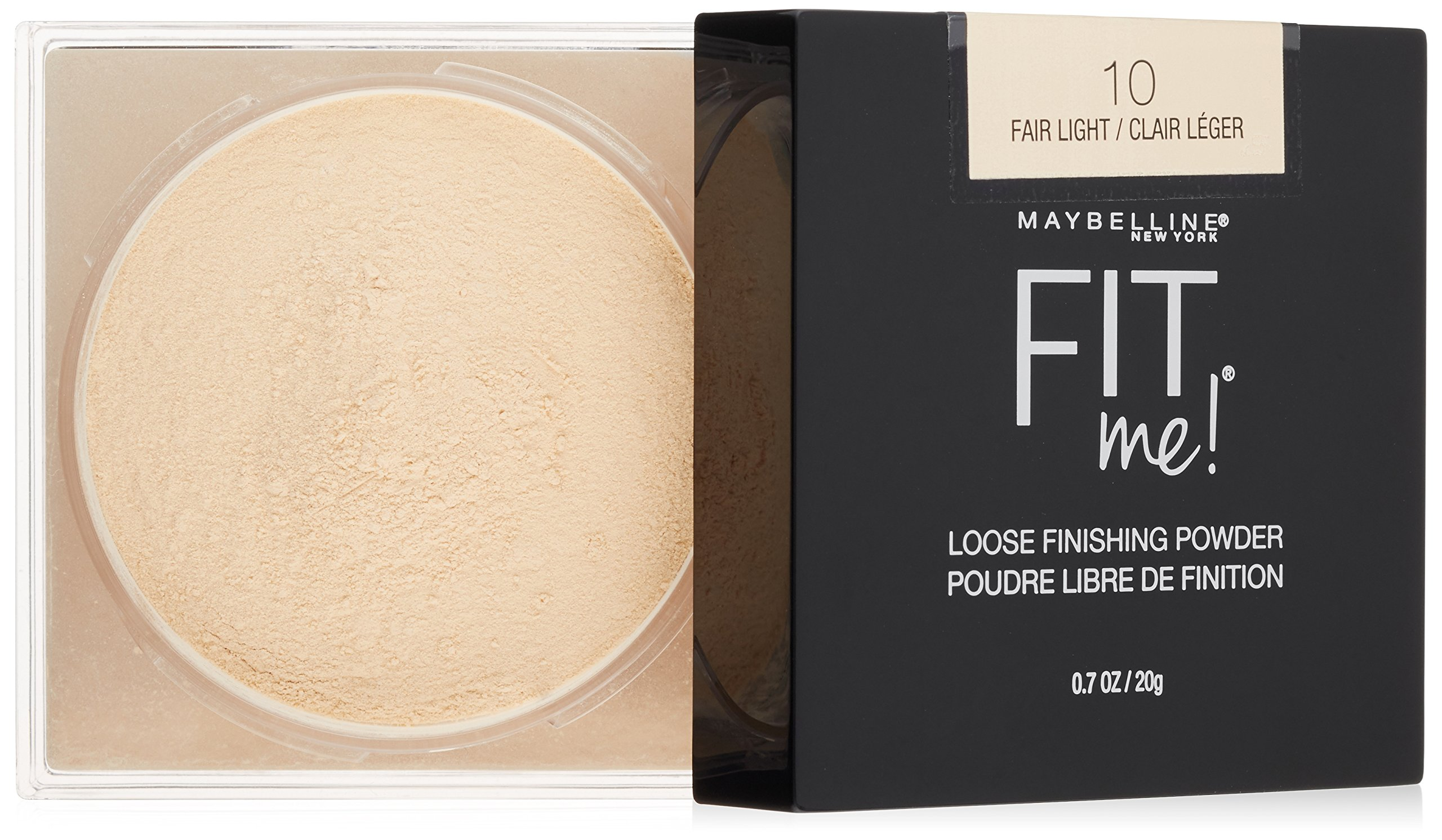 Maybelline Fit Me Loose Finishing Powder, Fair Light, 0.7 oz.