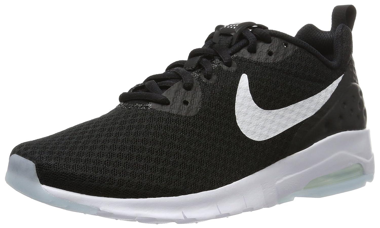 Nike Hommes Air Max Motion Low Cross Trainer Noir/Blanc Counter Genuine 62F495