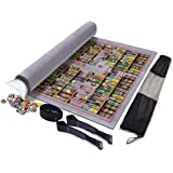 Puzzle Mat Jigsaw Felt Mat Puzzle Saver Organizer with Waterproof Storage Bag - Up to 2000pcs