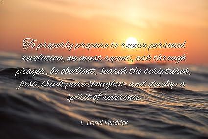 Amazon L Lionel Kendrick Famous Quotes Laminated Poster