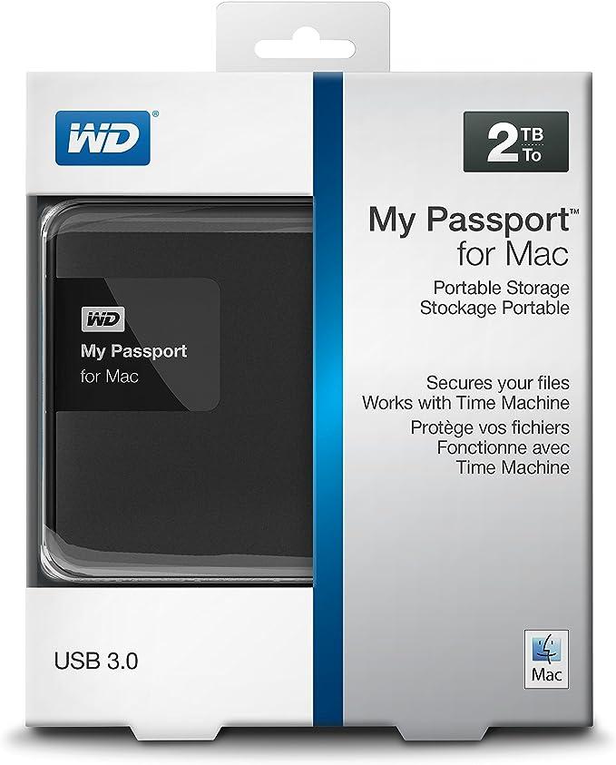 western digital external hard drive for mac