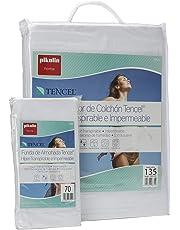 Pikolin Home - Set híper-transpirable e impermeable con protector de colchón (150 x