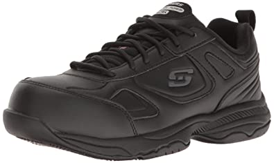Skechers Work Women's Dighton Fridley Work Shoe,Black,5 ...